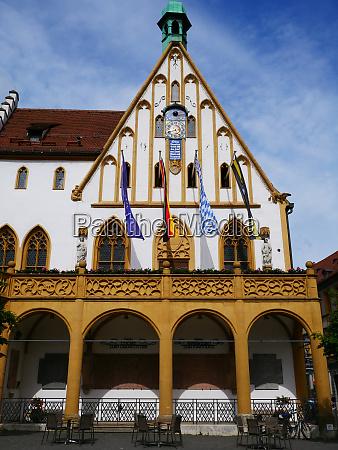 amberg bayern stadt historisches gotisches rathaus