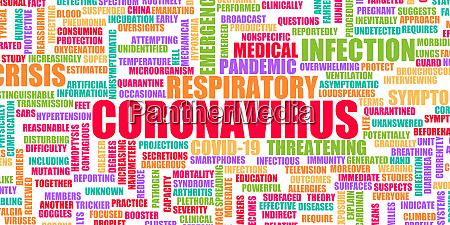 coronavirus krise als globaler pandemie notfall