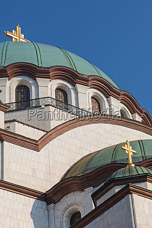 saint sava temple detail