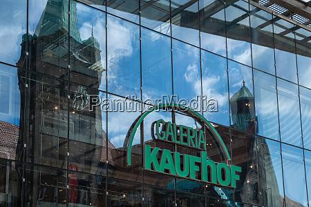 galeria kaufhof kaufhaus chemnitz sachsen deutschland