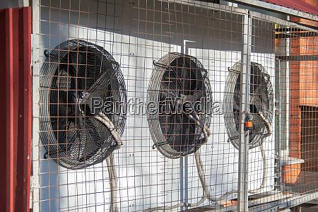 mehrere klimaanlagen