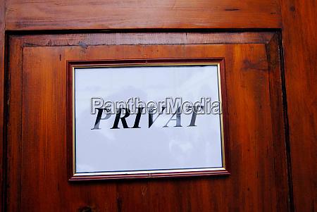 privates zeichen symbol fuer privatsphaere