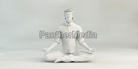 business man zen