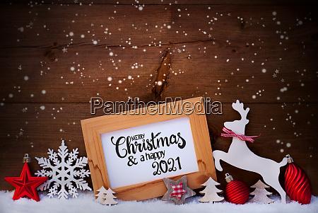 baum, schneeflocken, schnee, ball, frohe, weihnachten, und, glücklich, 2021 - 28631608