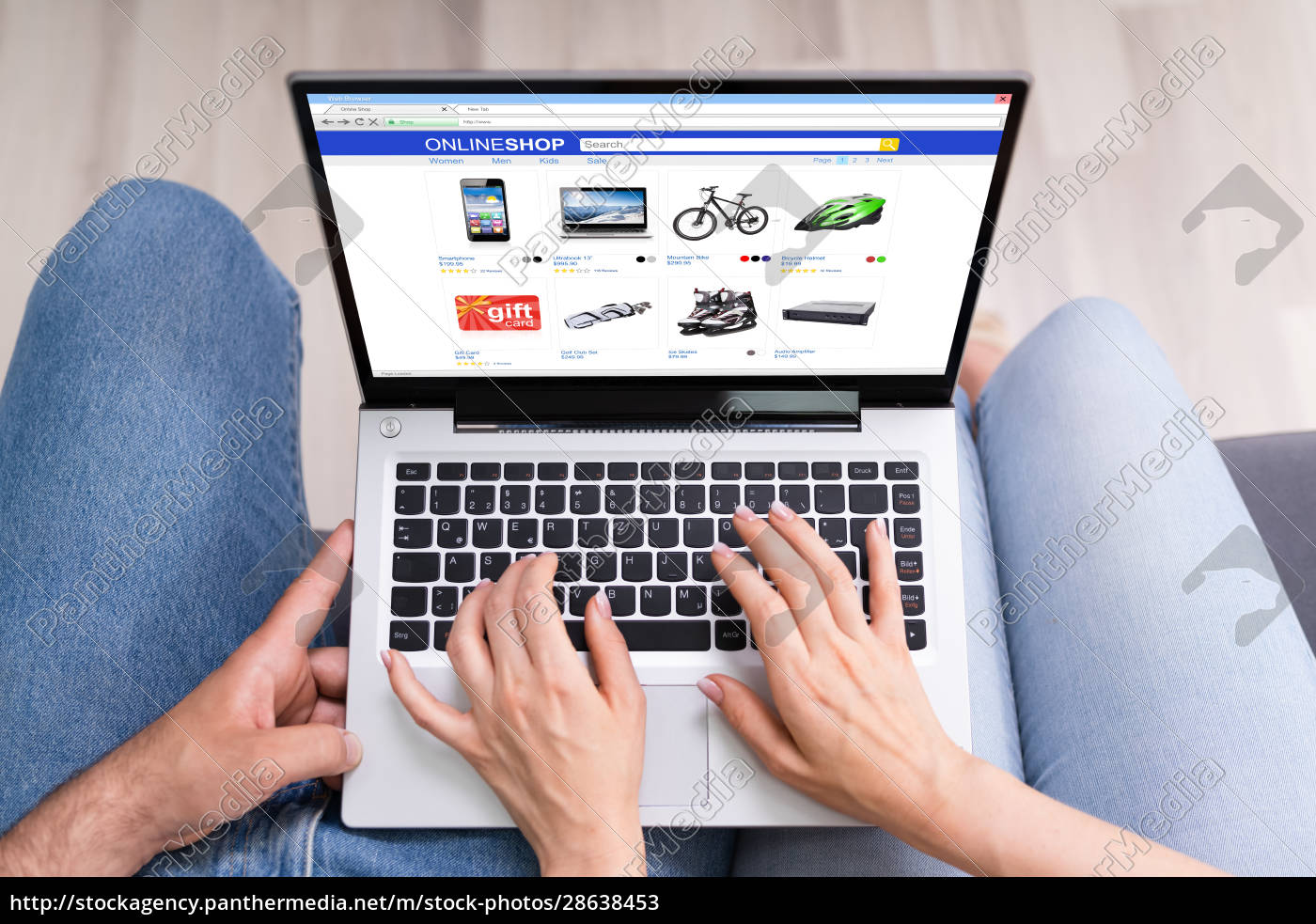 paar, shopping, electronics, online - 28638453