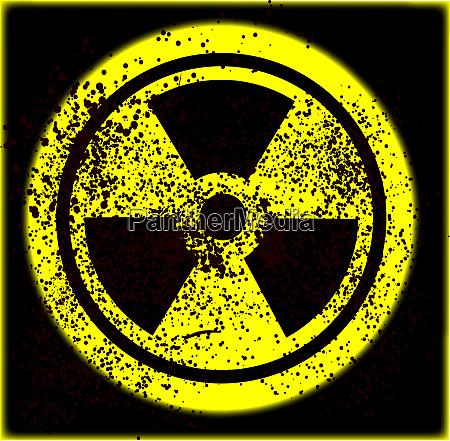vorsicht radioaktiv