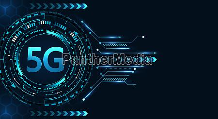 5g neue drahtlose high speed internetverbindung