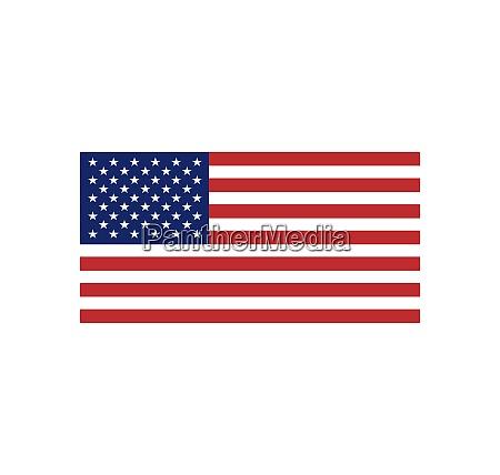 usa flagge symbol vecto