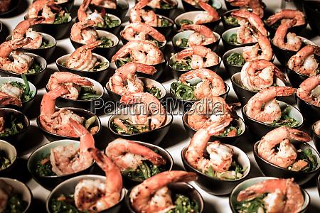 garnelen catering service meeresfruechte buffet hochzeitsessen