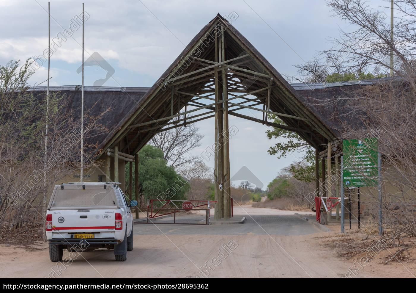das, ghoha-tor, des, chobe-nationalparks, botswana, afrika - 28695362