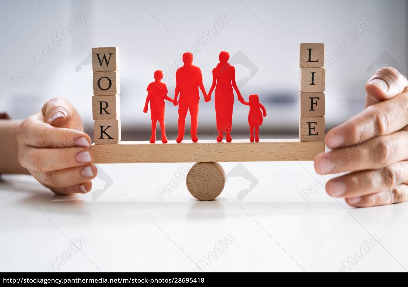 schutz, der, balance, zwischen, arbeit, und - 28695418