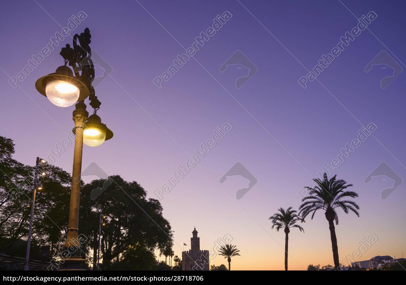 spanien, sevilla, torre, del, oro, torre, del, oro, im - 28718706