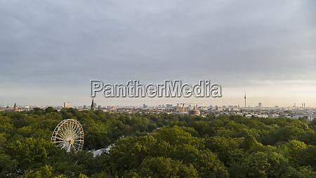 scenic view volkspark friedrichshain park and