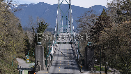 vacant sunny bridge vancouver british columbia