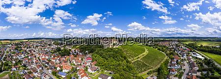 deutschland baden wuerttemberg untergruppenbach panorama der
