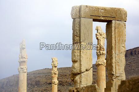 iran fars province marvdasht ruins of