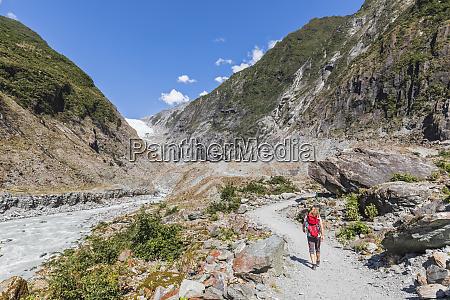 neuseeland westland district franz josef backpackerinnenwandern