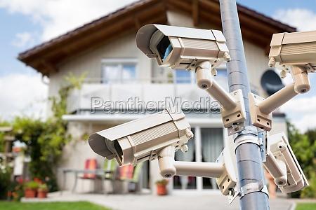 cctv security videokameras beobachten