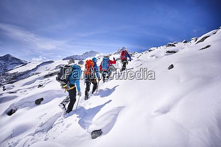 bergsteigergruppe grossvendediger tirol OEsterreich