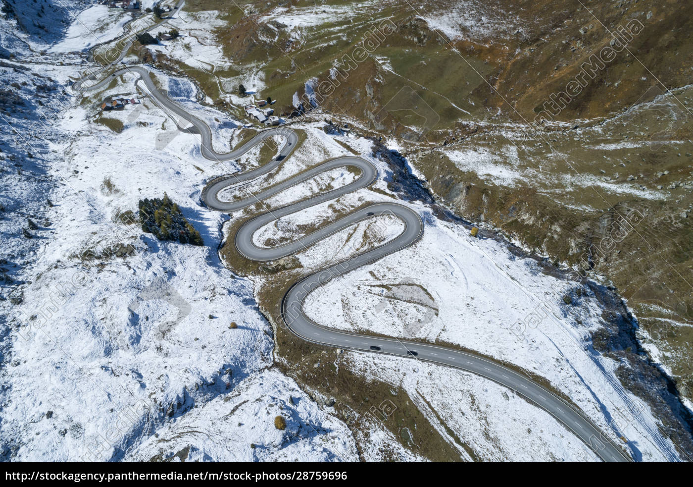 switzerland, , canton, of, grisons, , drone, view - 28759696