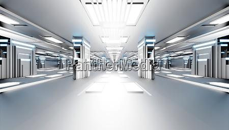 3d gerenderte illustration visualisierung futuristischen interieurs