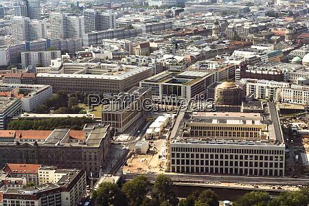 deutschland berlin luftaufnahme des palastes der