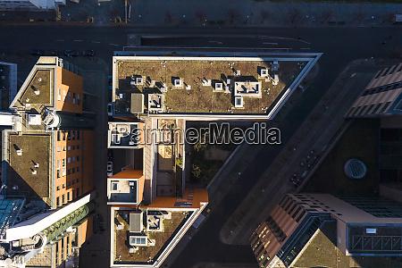 germany, , berlin, , aerial, view, of, roof - 28762843
