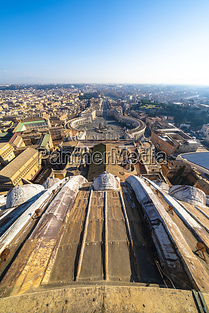 st peters square and skyline from