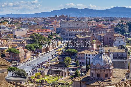 coliseum unesco world heritage site rome