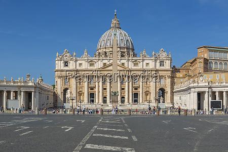 view of ancient basilica di san