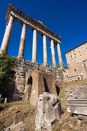 temple of saturn roman forum unesco