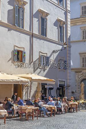 piazza, santa, maria, trastevere, rom, latium, italien, europa - 28784684