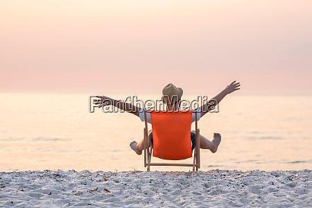 freiheit am strand