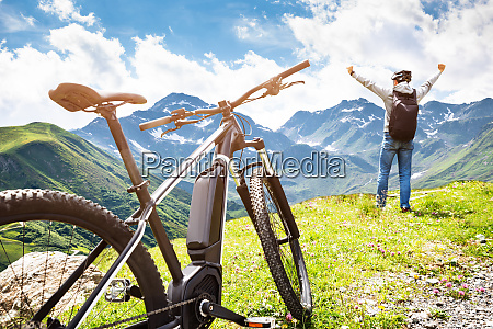 mountainbike in OEsterreich