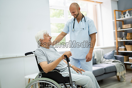 alte patientenheimpflege