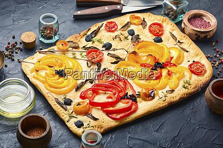 traditional, italian, focaccia - 28806049