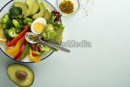 salatmahlzeit