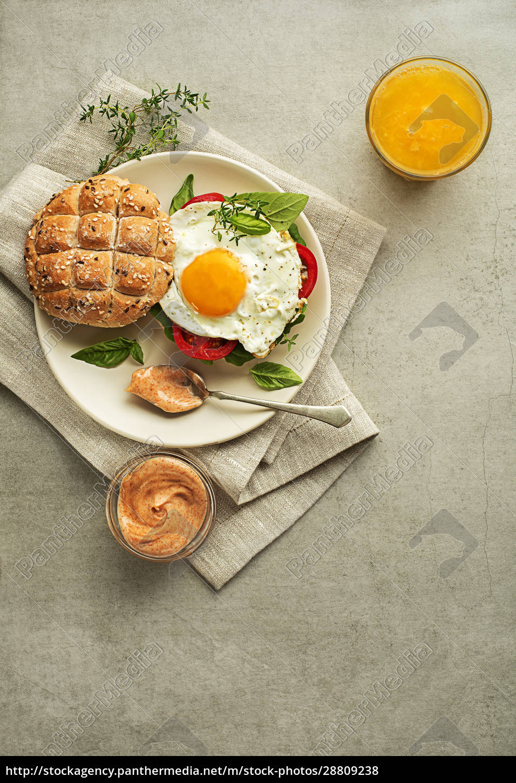 frühstück, ei - 28809238