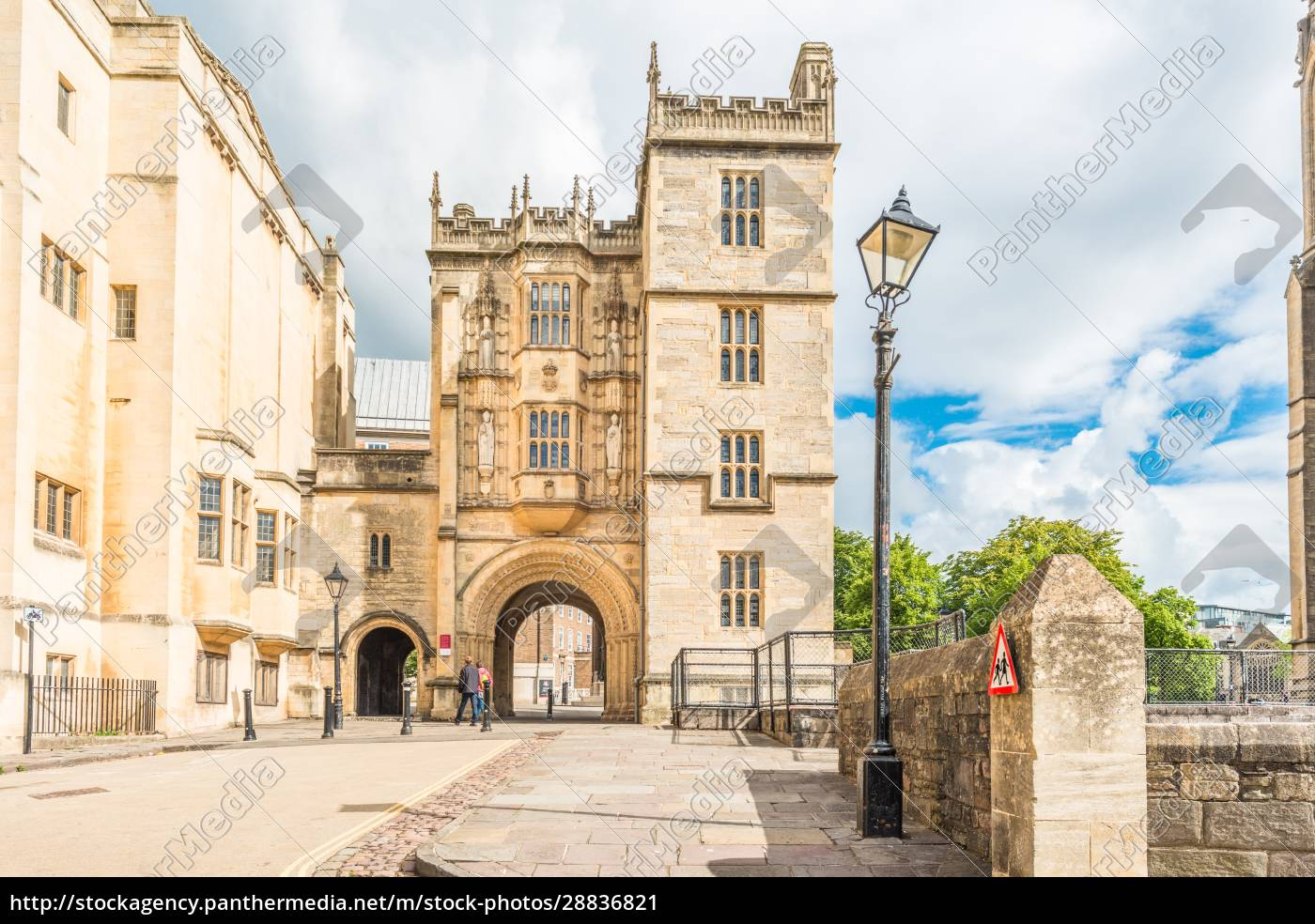 the, norman, gateway, at, bristol, library - 28836821