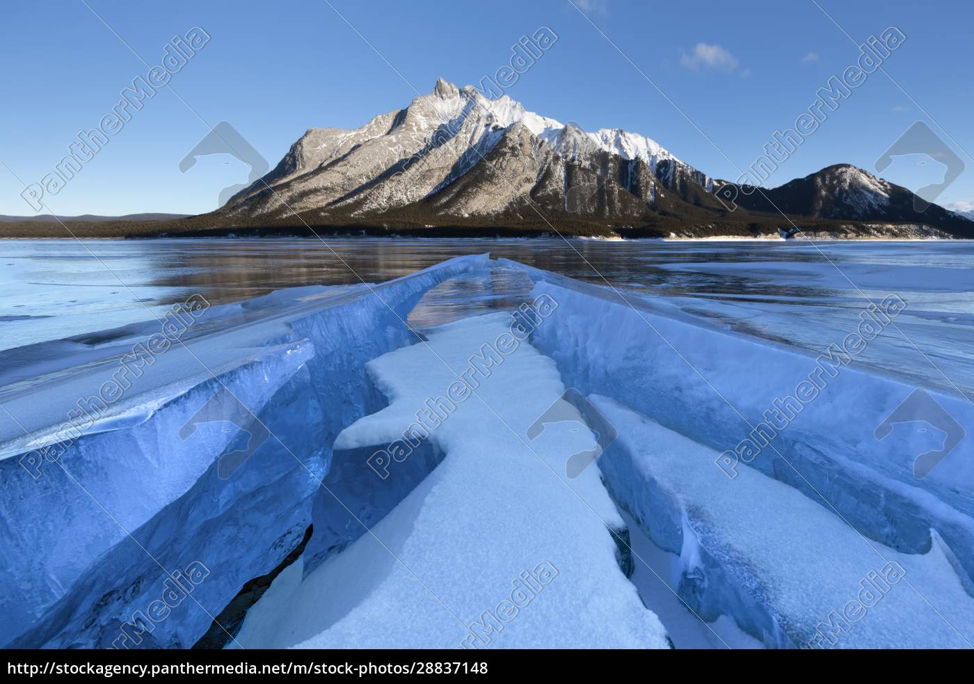 ice, formations, with, mount, michener, in - 28837148