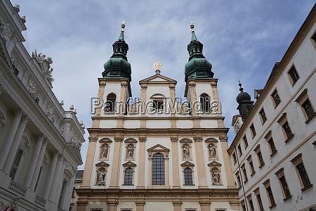 jesuitenkirche wien OEsterreich europa
