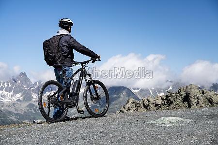 e fahrrad in OEsterreich mountain ebike