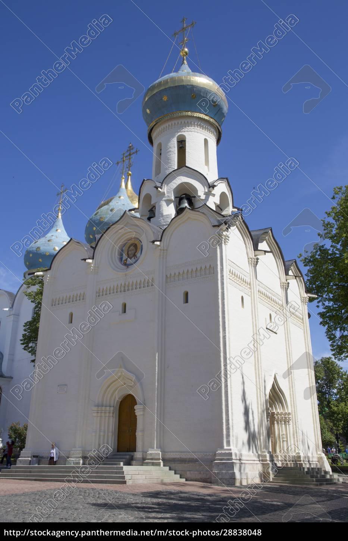 heilig-geist-kirche, die, heilige, dreifaltigkeit, st., sergius, lavra, unesco-weltkulturerbe, sergiev - 28838048