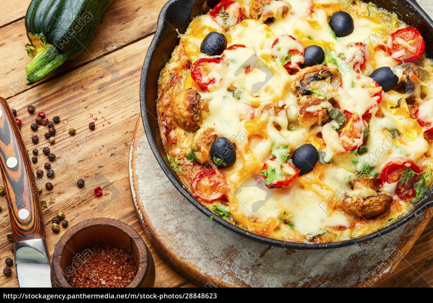scheibe, italienischer, klassischer, pizza - 28848623