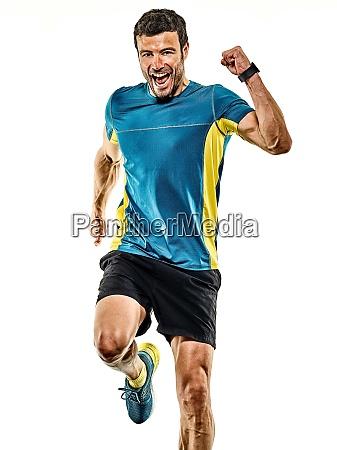 reifen mann laufen laeufer joggen jogger