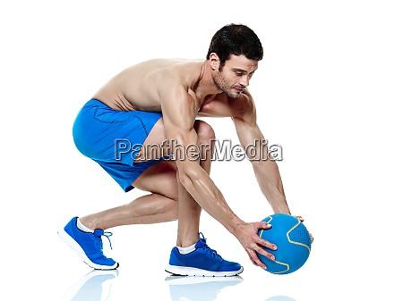 mann fitness UEbungen isoliert