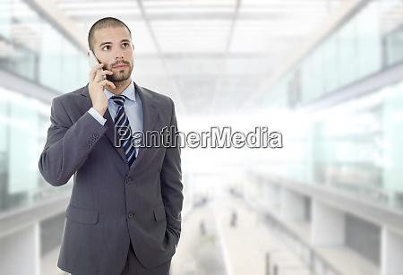 mann am telefon