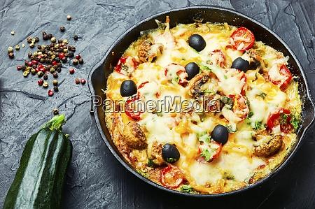 appetizing, italian, pizza - 28863448