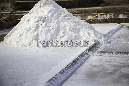 salz in der salzproduktion in navarra