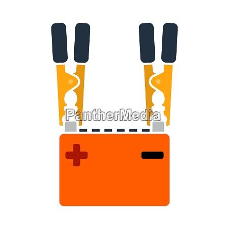 autobatterie ladung icon